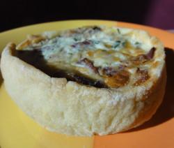 Slaný francouzský koláč Quiche