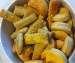 slané sýrové pečivo