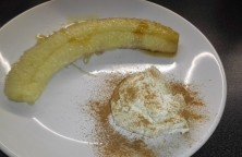 banán s rumovým mascarpone
